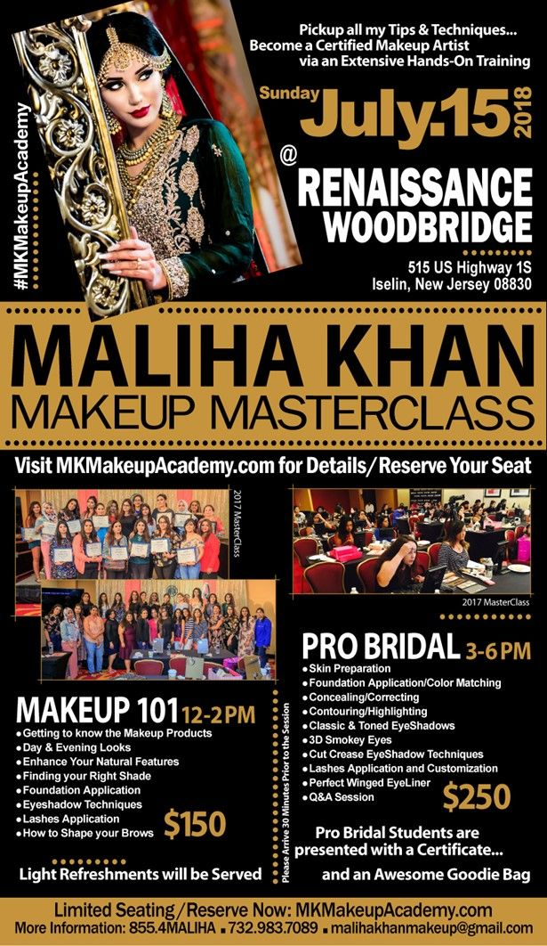 Makeup MasterClass by Maliha Khan