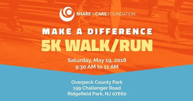 Share & Care foundation - 5k Walk /Run by Share and Care Foundation