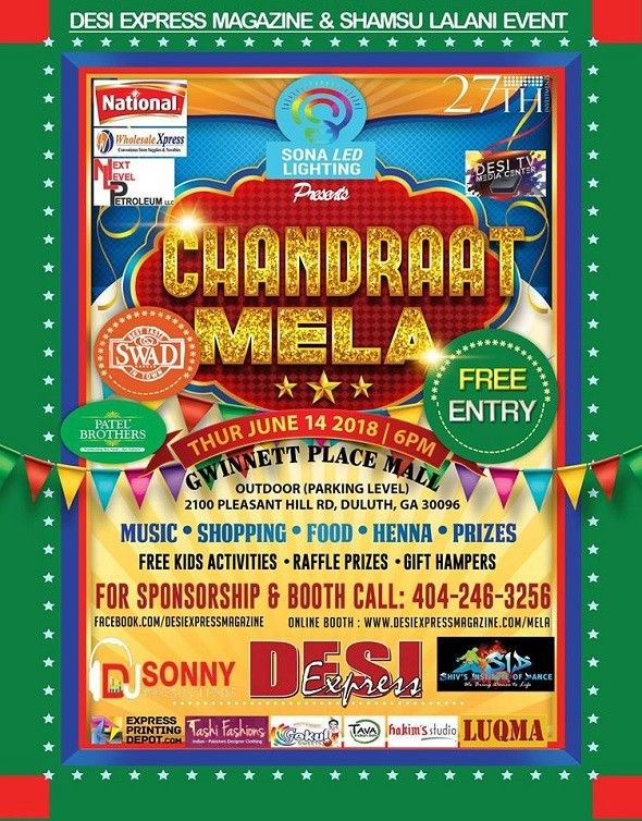 Chandraat Mela - Fun, Food, Shopping and Entertainment