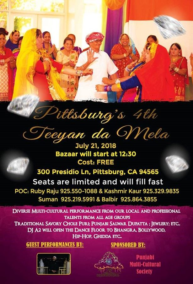 Pittsburg 4th Annual Teeyan da Mela