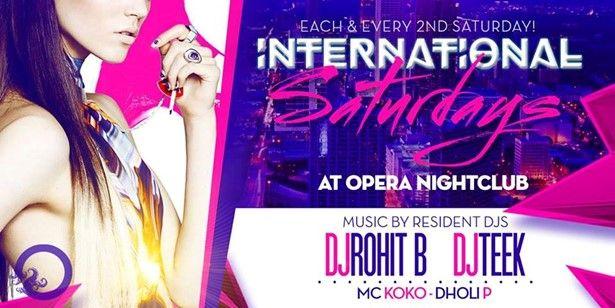 Opera International Saturday: Bollywood Night