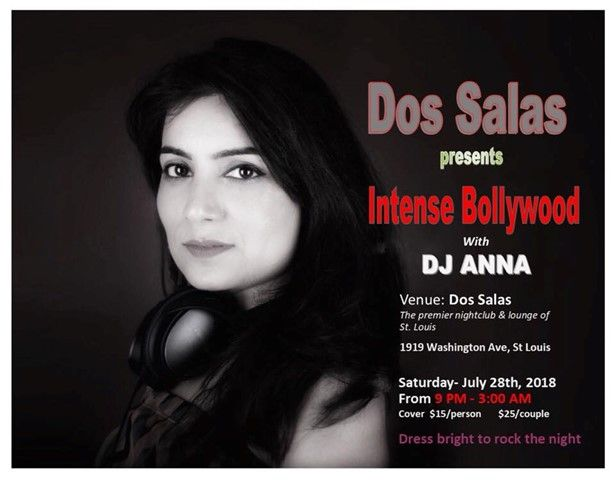 Intense Bollywood with DJ ANNA