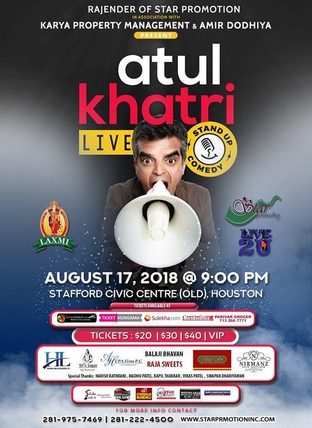 Atul Katri Live - Stan Up Comedy