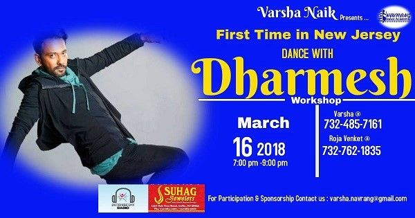 Dance with Dharmesh