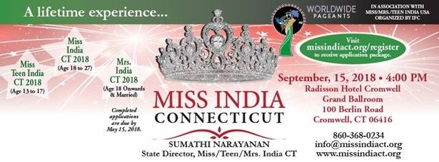 Miss India Connecticut 2018