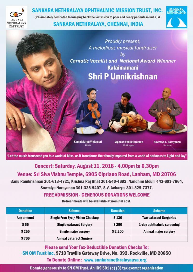 Unnikrishnan Concert