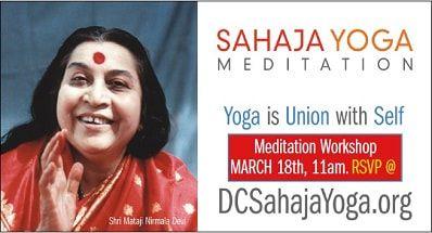 Meditation Workshop presented by Sahaja Yoga