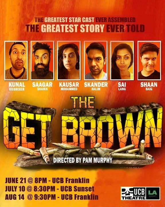 The Get Brown at UCB Franklin!