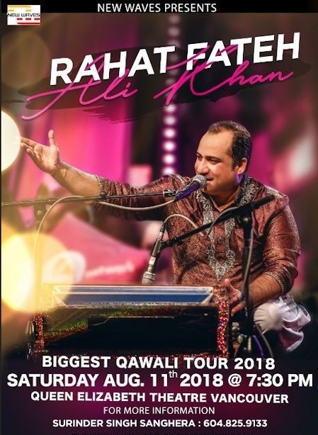 Rahat Fateh Ali Khan Biggest Qawali Tour Live In Concert 2018