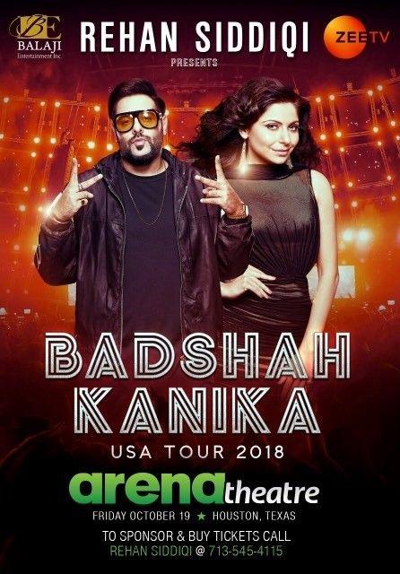 BADSHAH - KANIKA Live In Houston