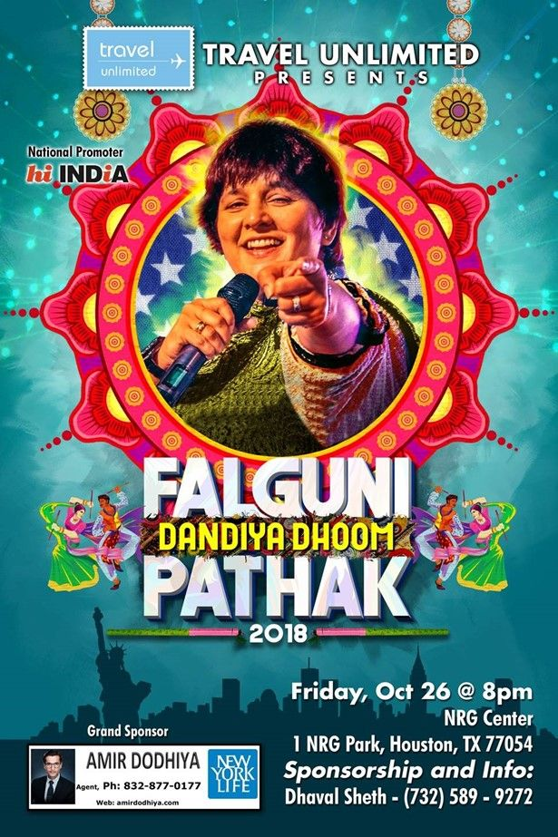Falguni Pathak Dandiya & Raas Garba in Houston