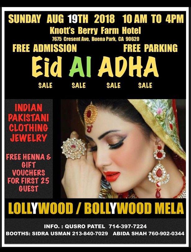 EID AI ADHA - Bollywood Mela