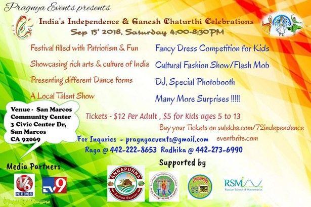 India's Independence & Ganesh Chaturthi Celebrations