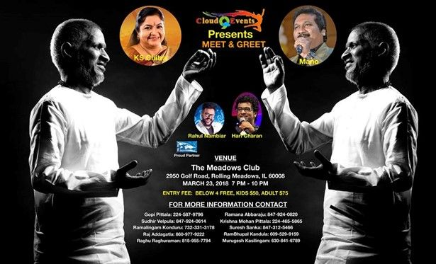 Meet and Greet with Ilayaraja and Team