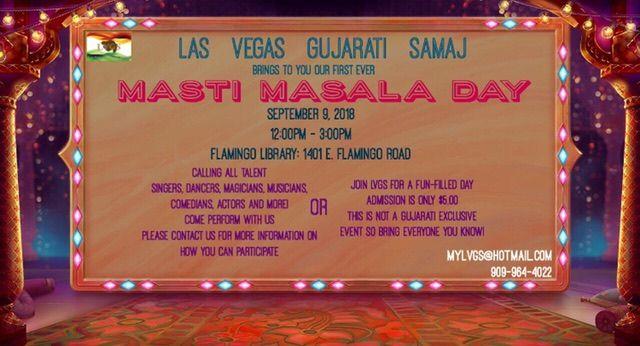 Masti Masala Day by Las Vegas Gujarati Samaj (LVGS)