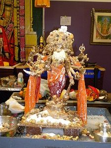Panchamuka Hanuman Abishekam