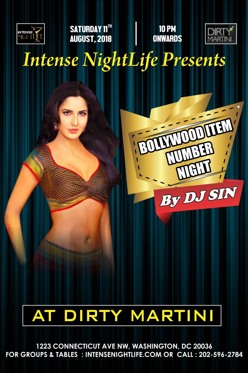Special Item Number Bollywood Night with DJ Sin