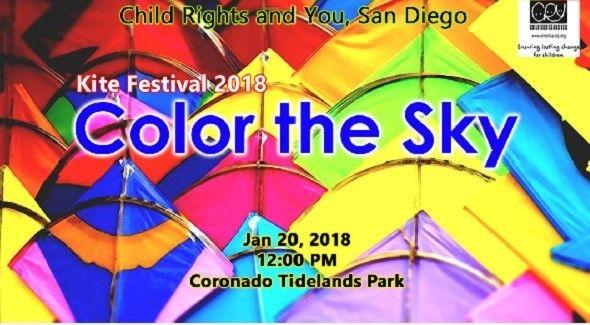 CRY Color the Sky Kite Festival 2018