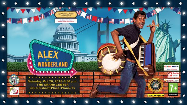 Dallas-Alex in Wonderland(Stand-up Comedy)