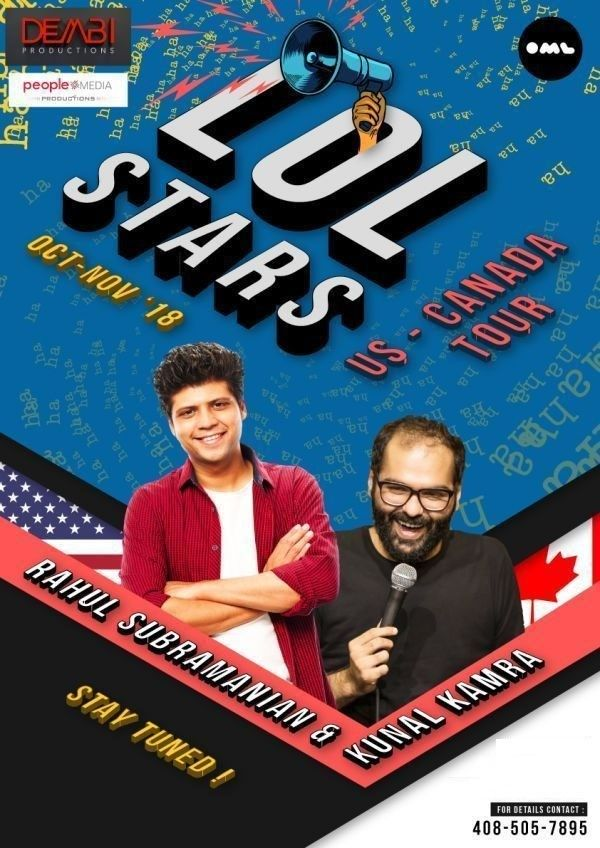 Rahul Subramanian & Kunal Kamra Stand-Up Comedy: Live in Dallas