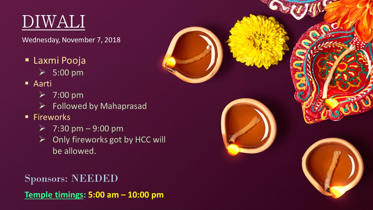 Diwali - Lakshmi Pooja - Chopda Poojan