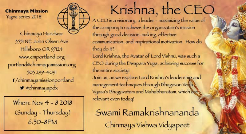 Krishna the CEO