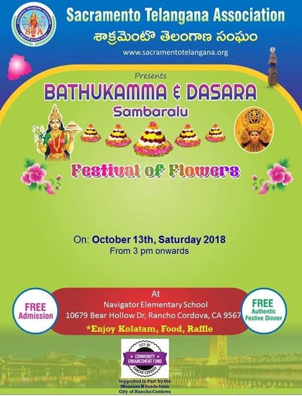 Bathukamma and Dussehra