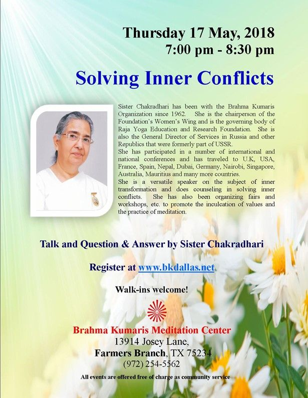 Solving Inner Conflicts