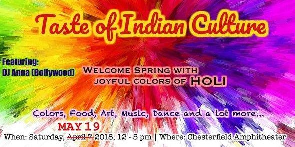 Taste of Indian culture Festival