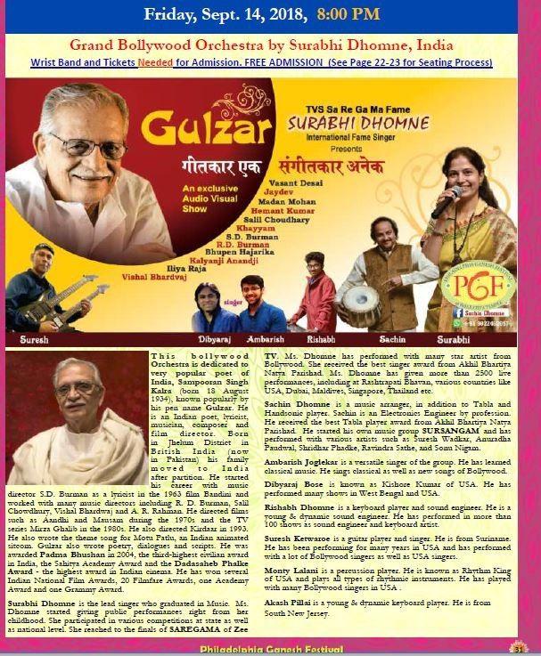 Grand Bollywood Orchestra by Surabhi Dhomne