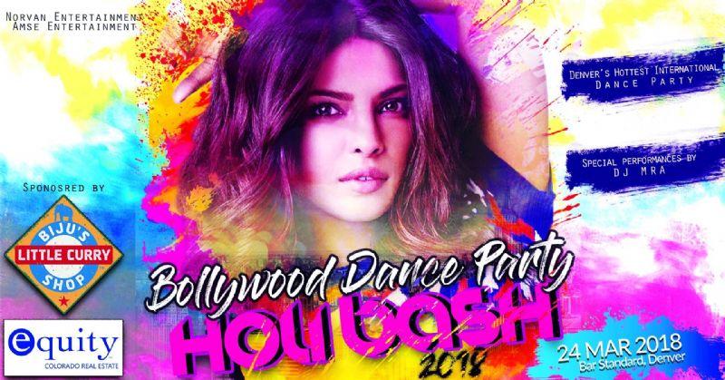 Bollywood Dance Party - Holi Bash 2018 w/ DJ MRA