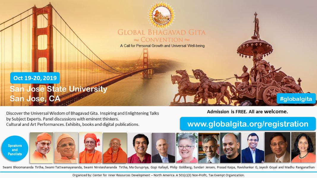 2019 Global Bhagavad Gita Convention