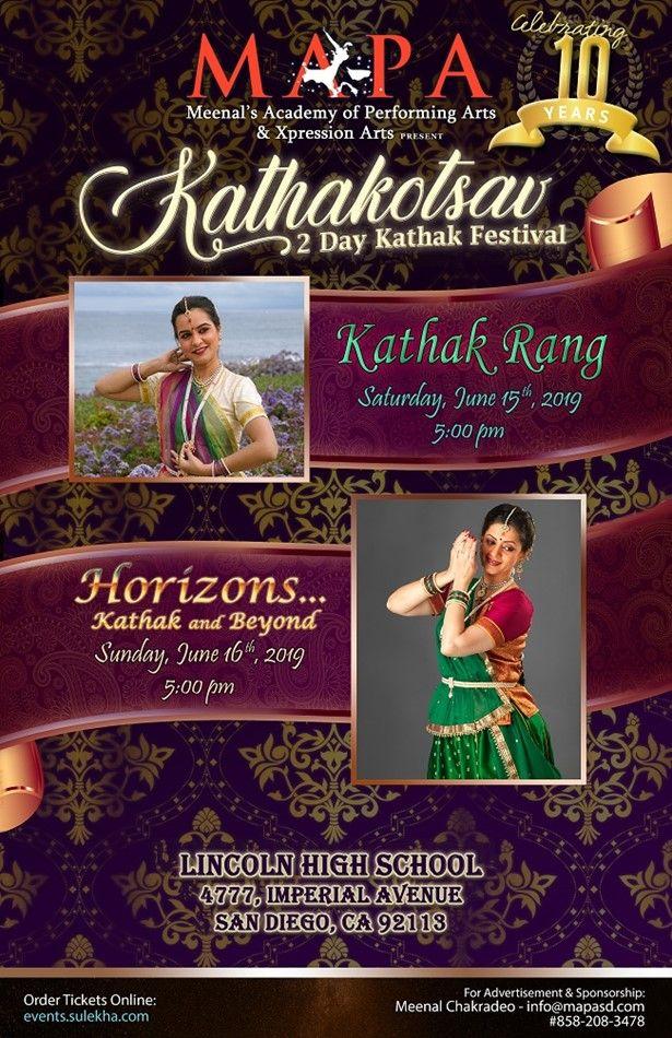 Kathakotsav - 2 Day Kathak Festival (June 15th & 16th)
