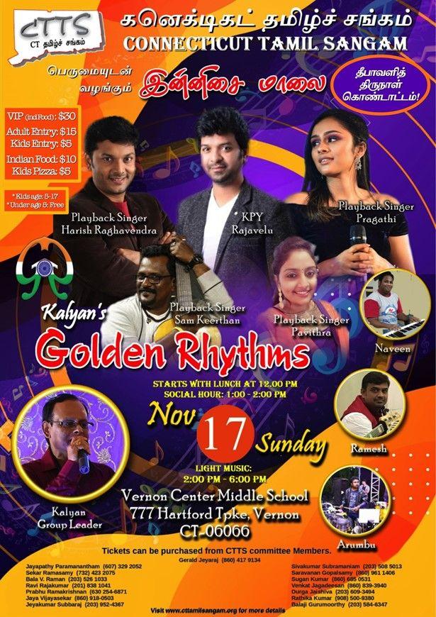 CT Tamil Sangam's Deepavali Celebration 2019
