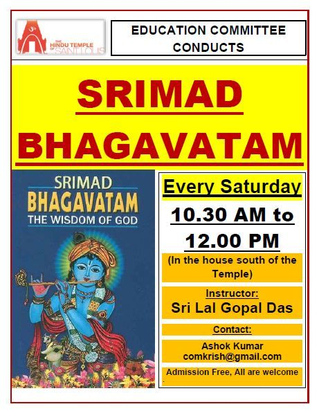 SRIMAD BHAGAVATHAM Lectures