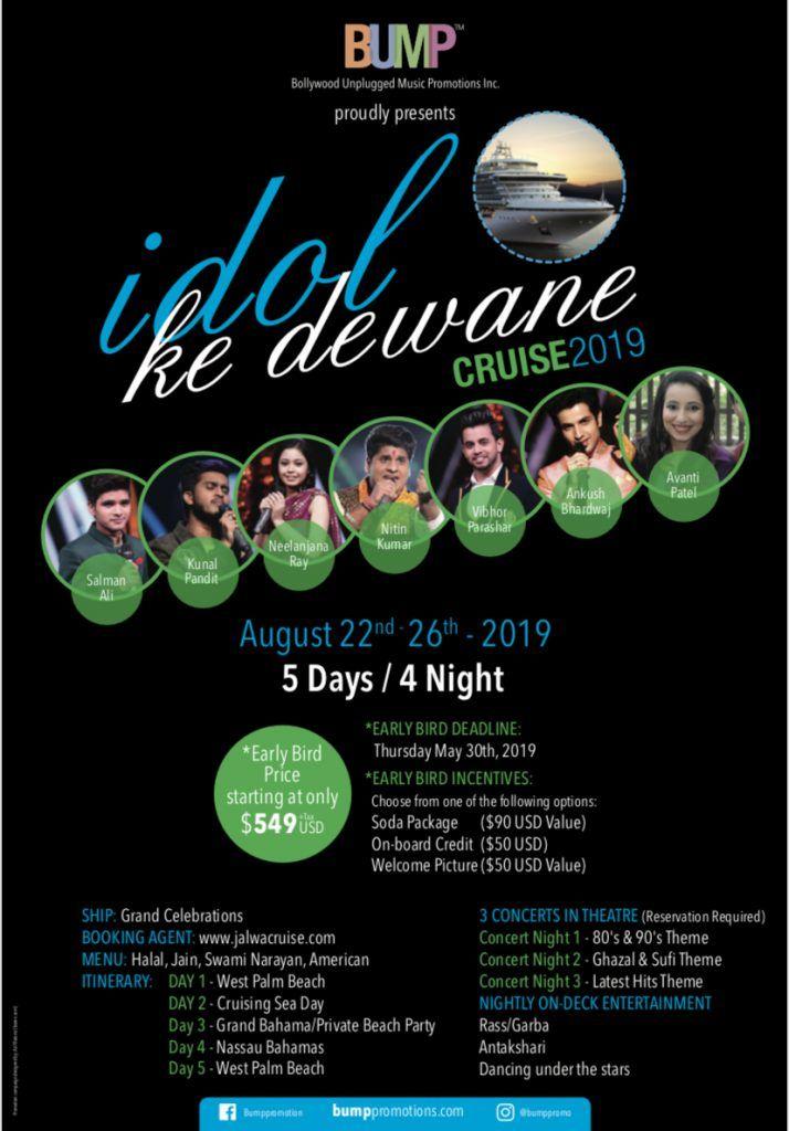 Idol Ke Deewane Cruise 2019