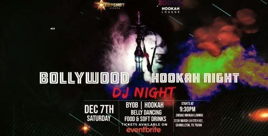 Bollywood Hookah Night