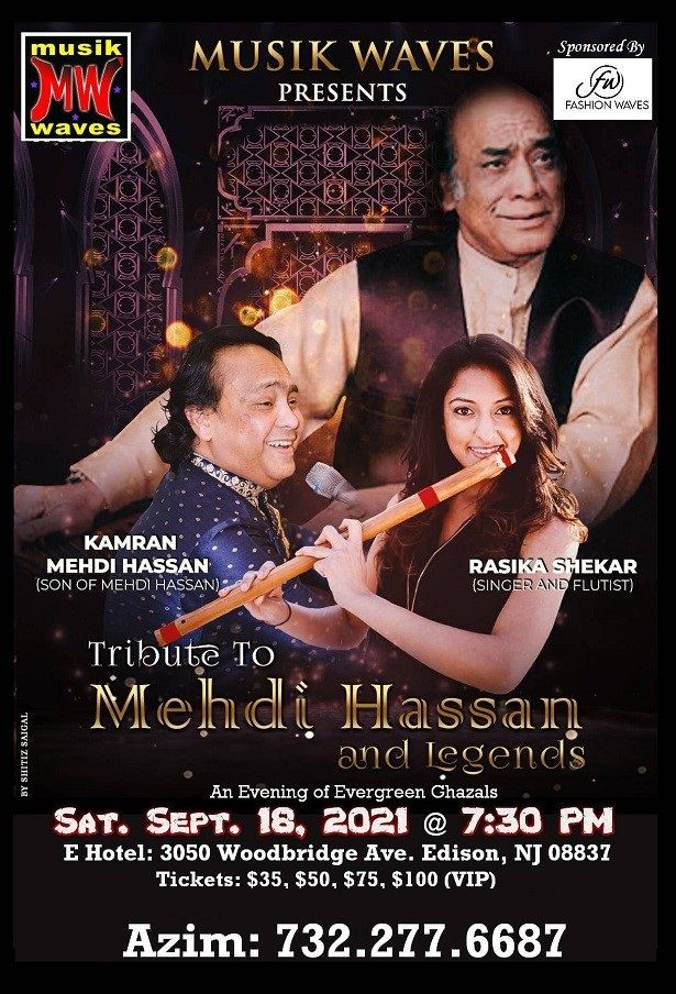 Tribute to Mehdi Hassan & Legends