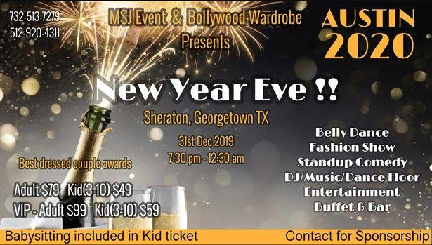 New Year Eve Austin 2020