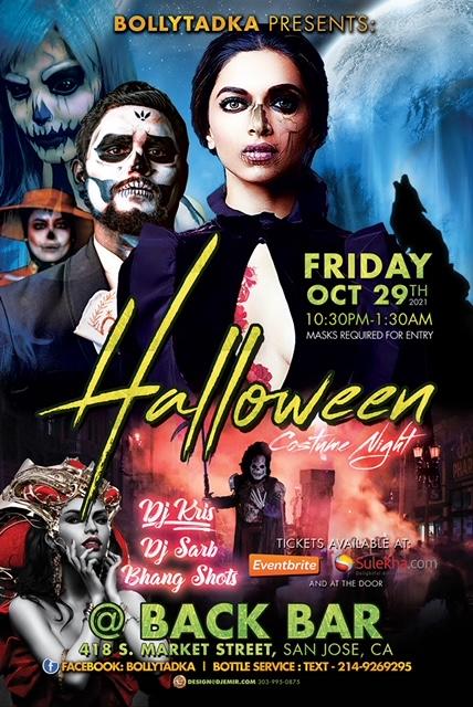 Bollywood Halloween Party