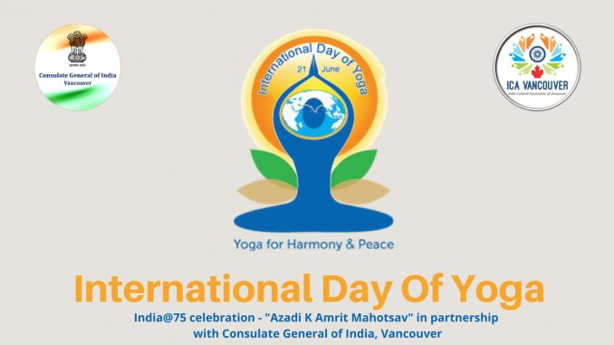 International Yoga Day 2021 ICA & CGI Vancouver