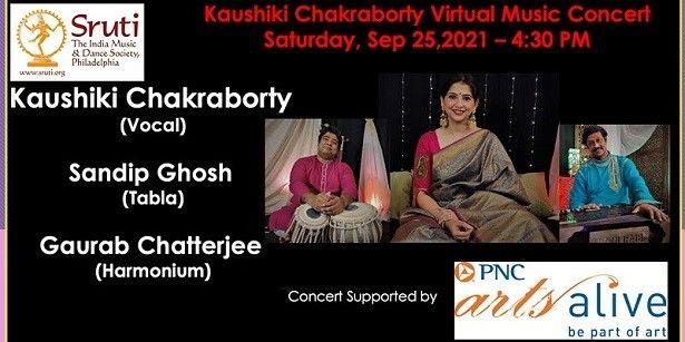 Kaushiki Chakraborty - Indian Hindustani Classical Musical Concert