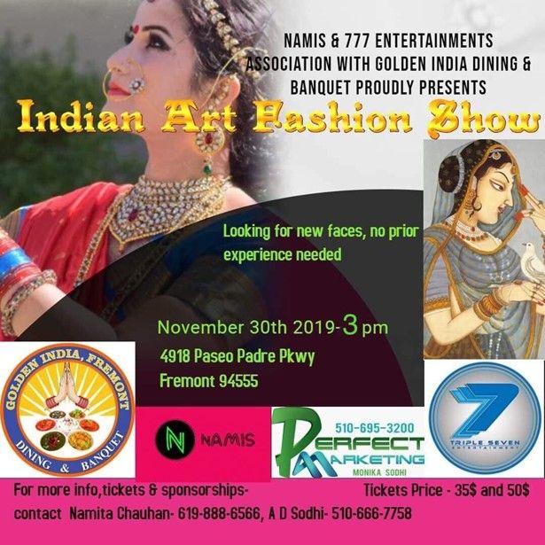 Indian Art Fashion Show