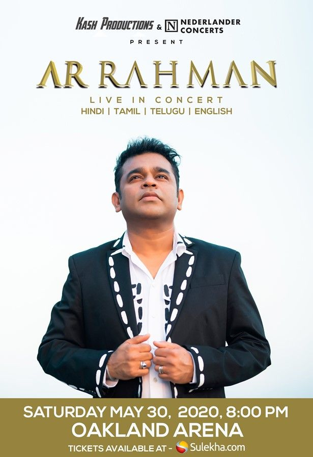 A.R. Rahman Live In Concert 2020 - Bay Area