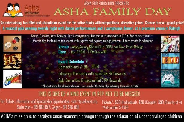 Asha Family Day