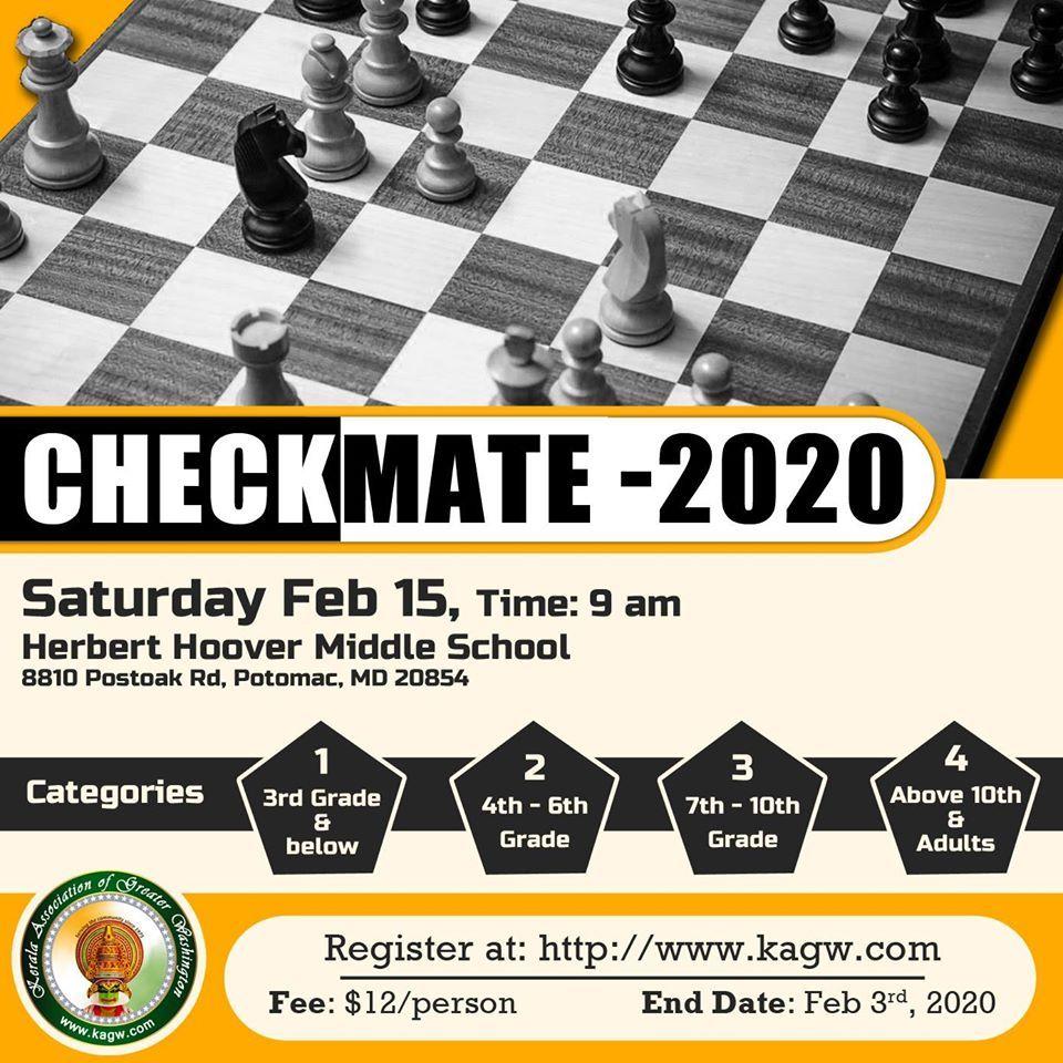 Chess Tournament - Checkmate 2020