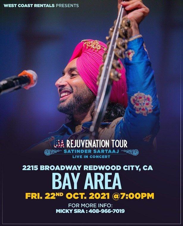 Satinder Sartaj Live in Concert in Bay Area 2021