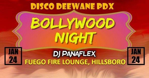 Bollywood Night by Disco Deewane PDX