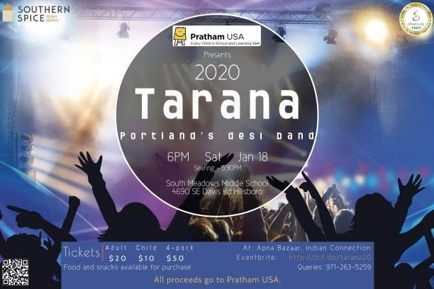 Pratham Portland - Tarana 2020
