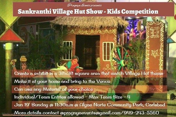 Village Hut Show Competition for Kids
